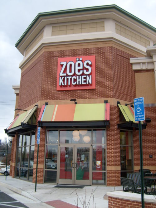Zoes Kitchen Discover Fairfax Virginia
