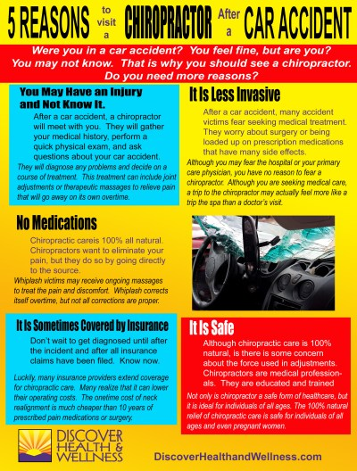 5 Reasons to Visit a Chiropractor After a Car Accident