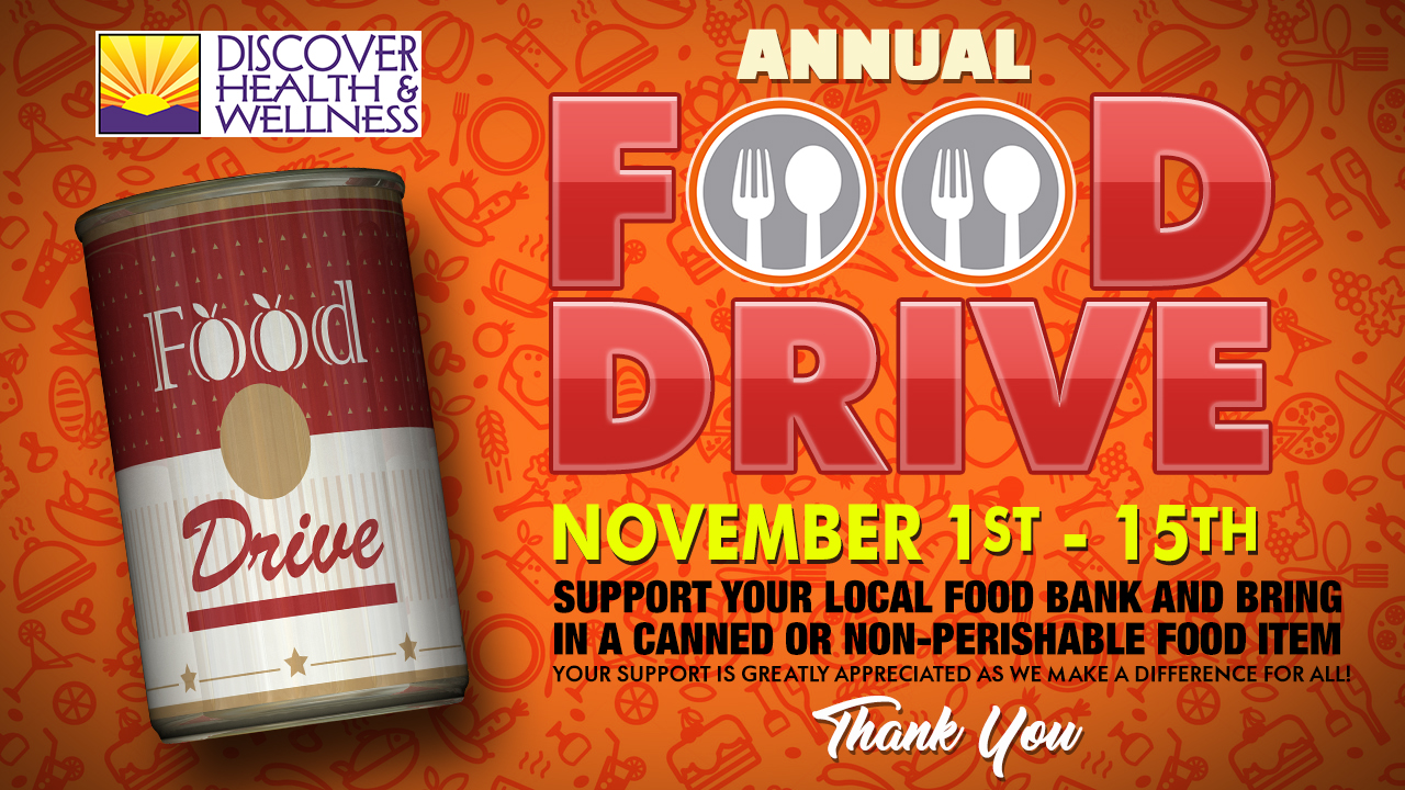Annual Thanksgiving Food Drive