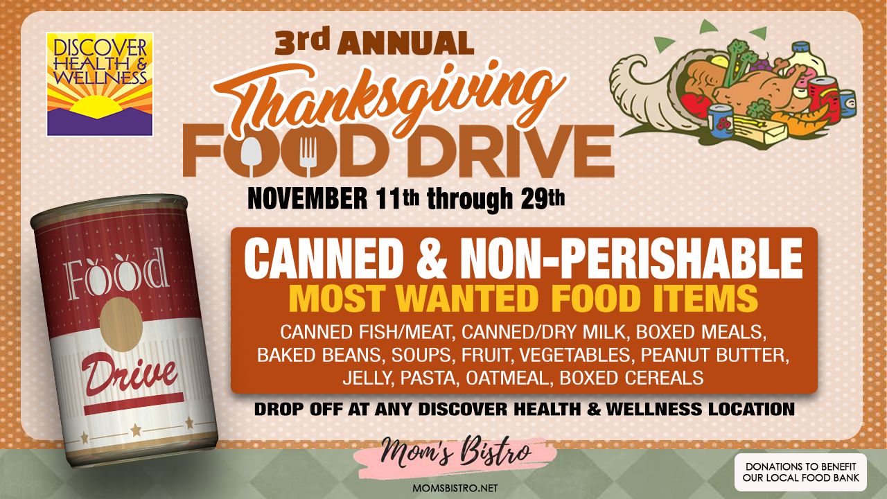 3rd Annual DHW Food Drive