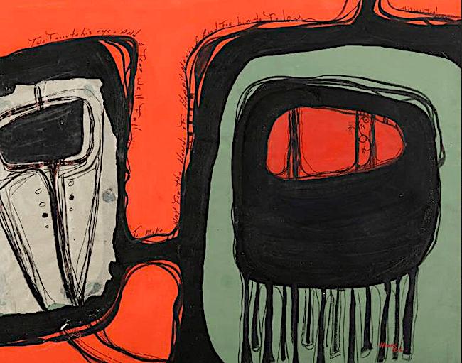 Abstract Native American Art Volume X