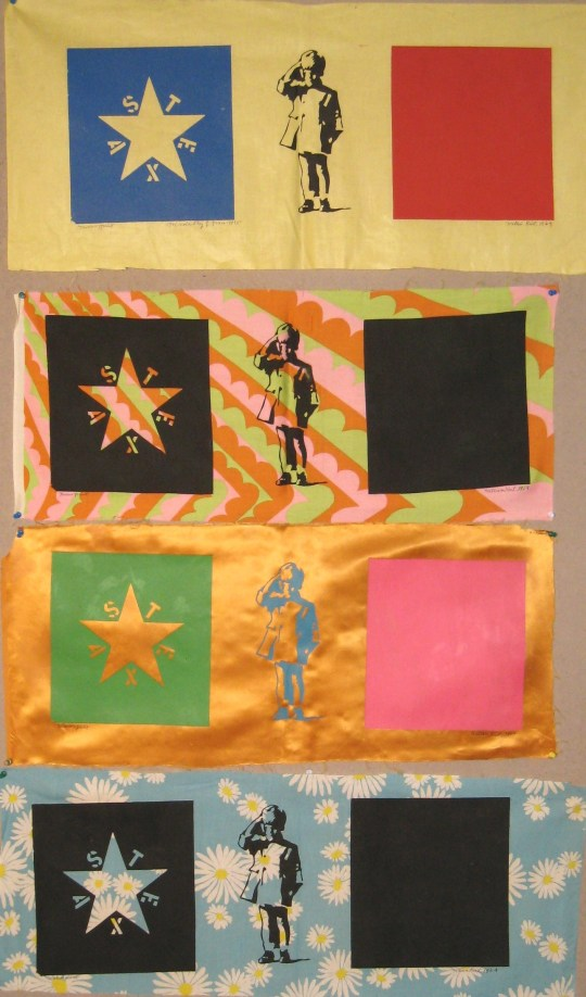 First Tri-Color Lone Star Flag (4 versions)