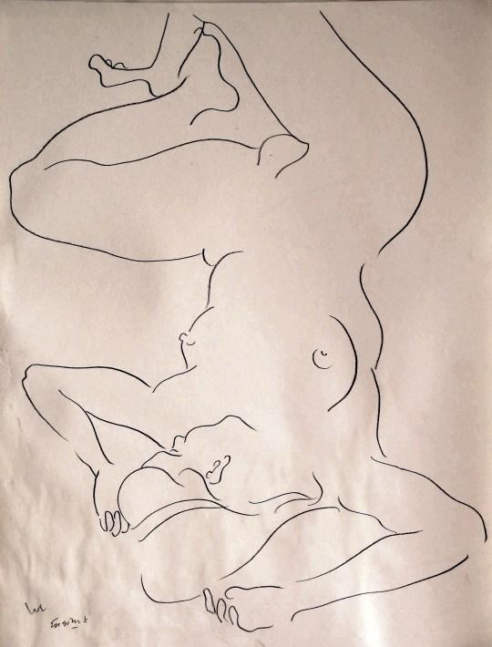 Nude study No.23