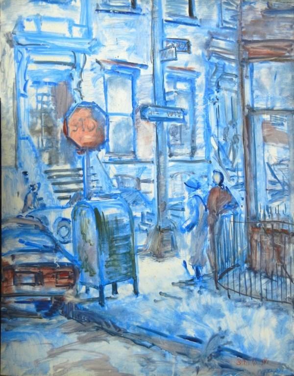 Street Corner, Brooklyn