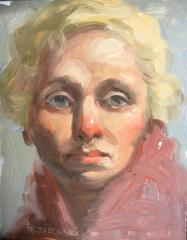Blonde-haired Woman