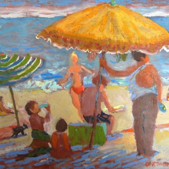 Under the Umbrellas in the Hamptons
