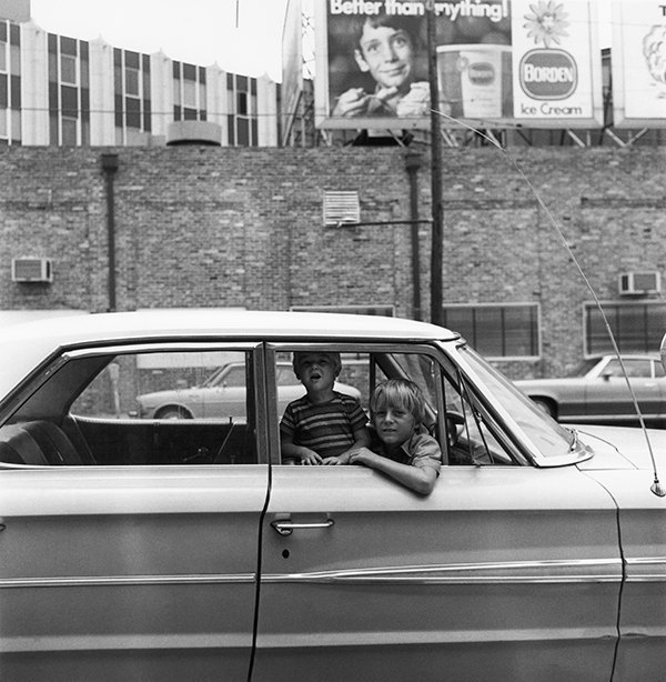 Boys in Parked Car, Meridian, Mississippi