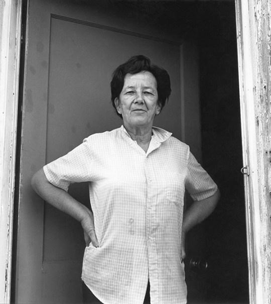 Woman in Doorway, Fredericksburg, Virginia