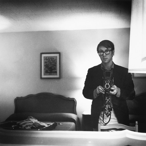 Self-Portrait, Motel Room, Williamsburg, Virginia