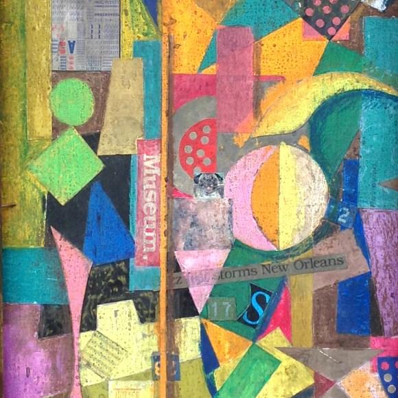 Untitled (Constructivist collage – Museum)