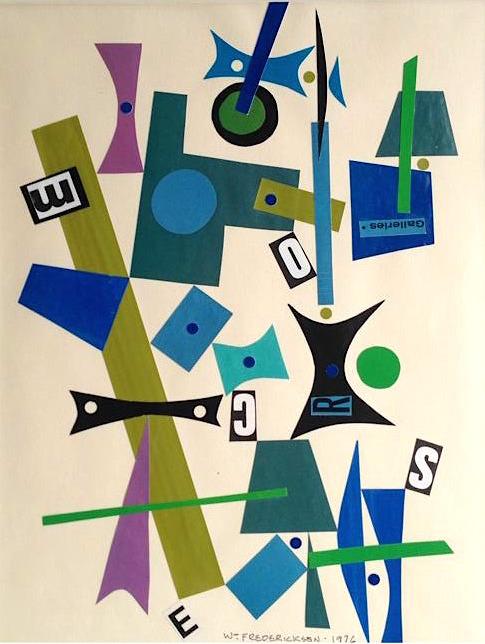 Untitled (Constructivist collage - Galleries)
