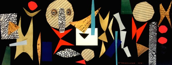 Untitled (Abstract composition, eyes)