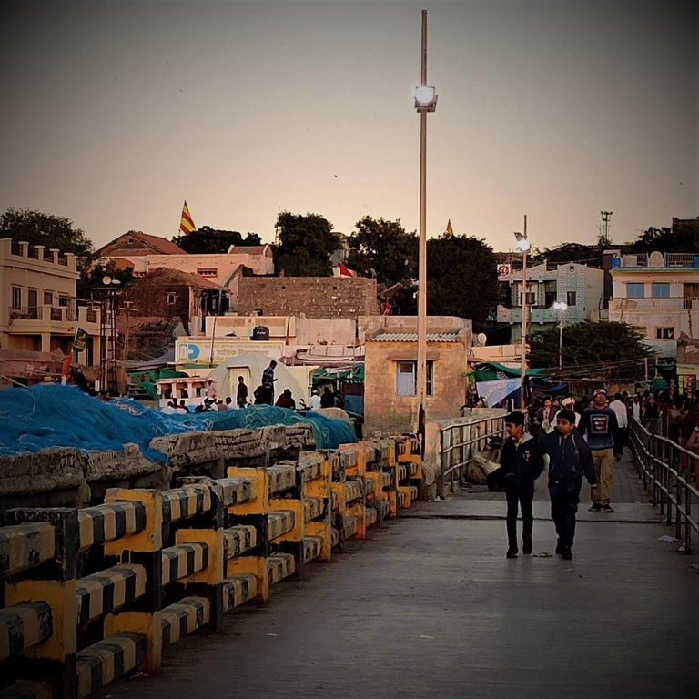 Bet Dwarka jetty
