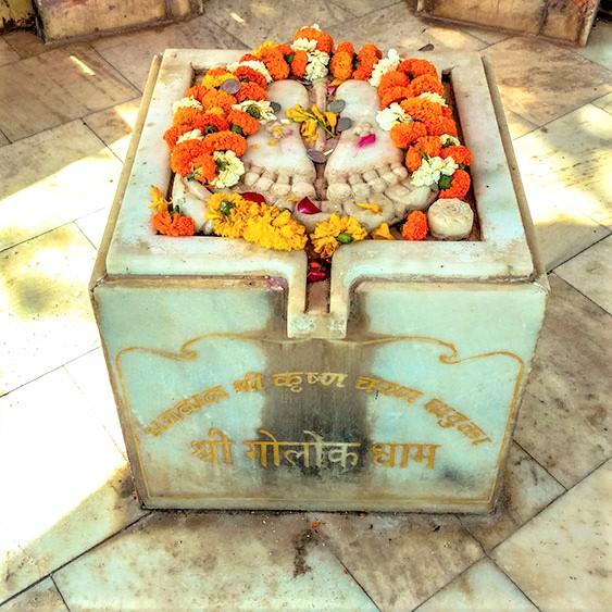 foot Prints Krishna