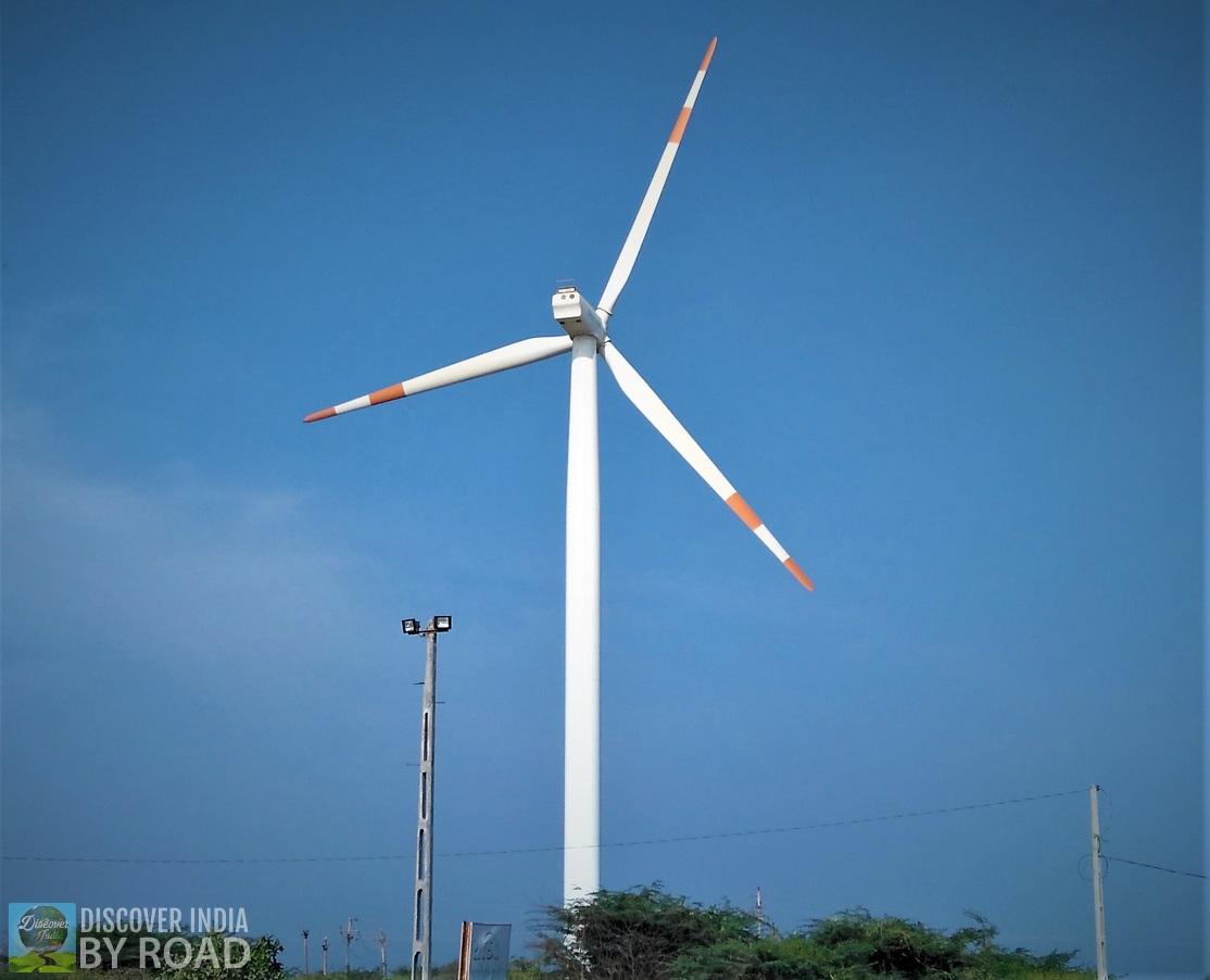 Wind Turbines on Highway