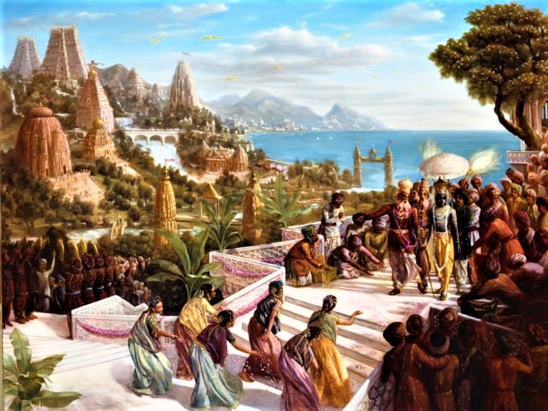 Illustrative image of Dwarka