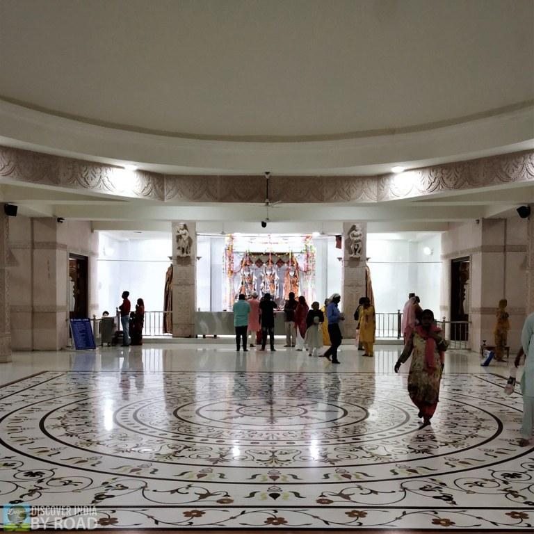 Inside Mandir