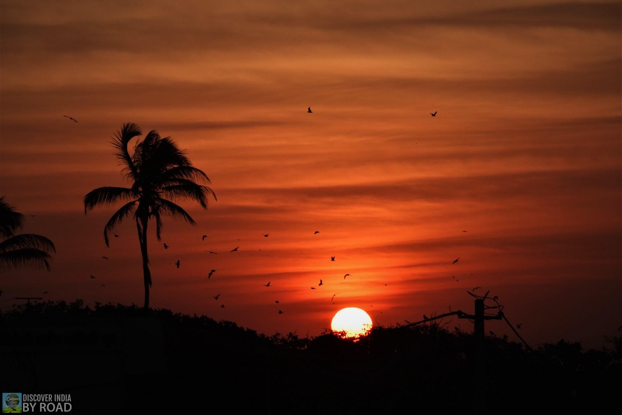 Sunrise in Somnath