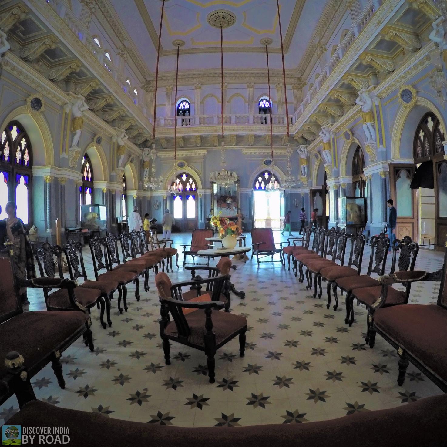 Royal Darbarhall of Prag Mahal Palace
