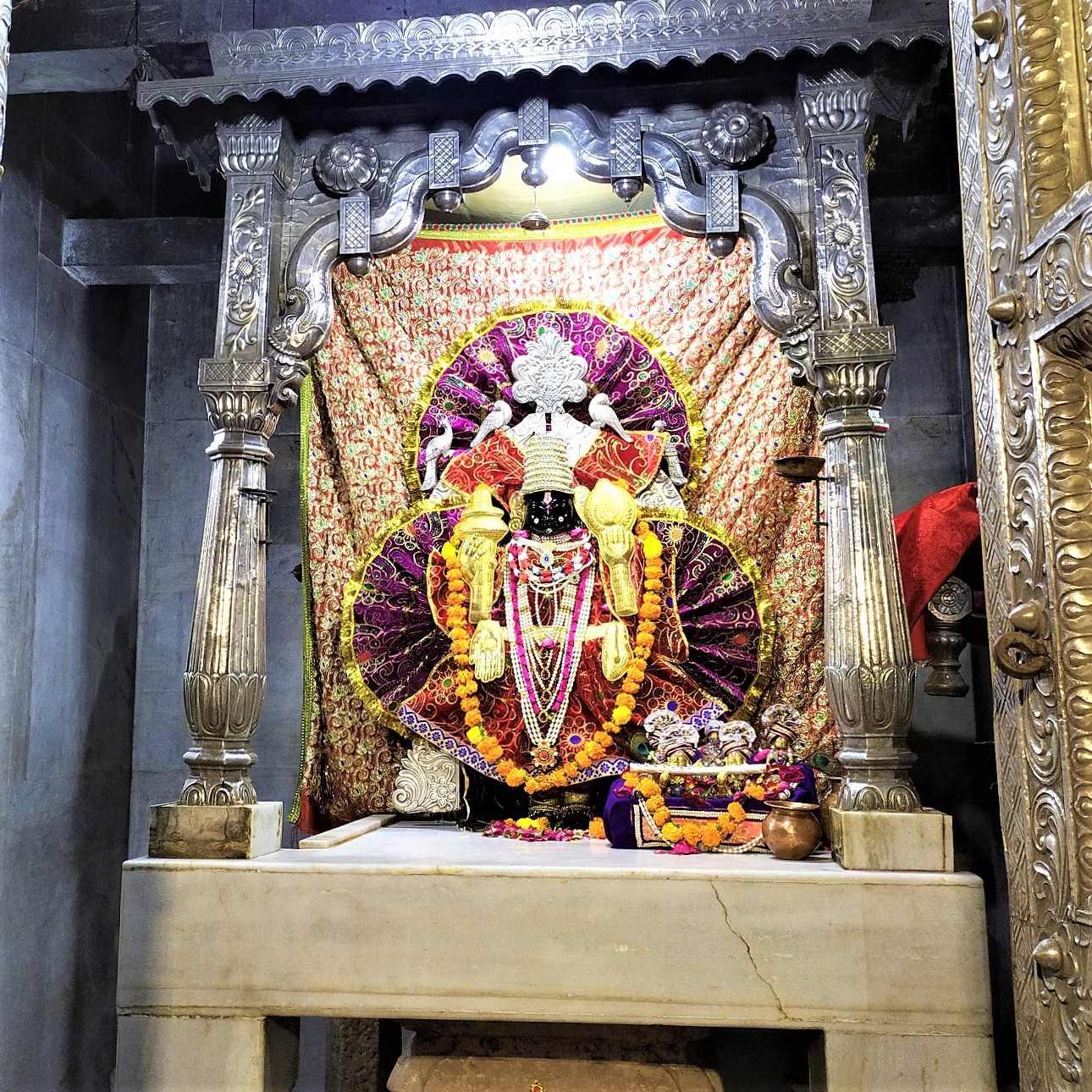 Trivikramrai ji Idol in Temple at Narayan Sarovar