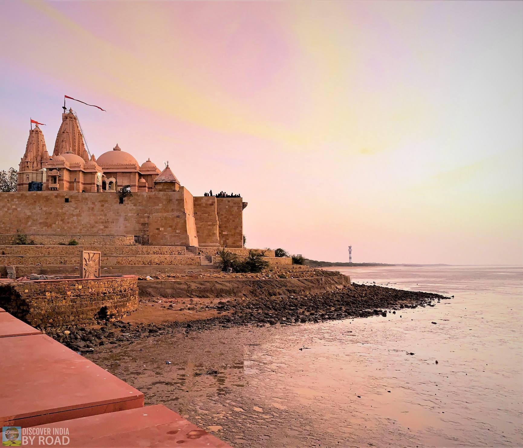 mesmerizing Sunset view form Koteshwar