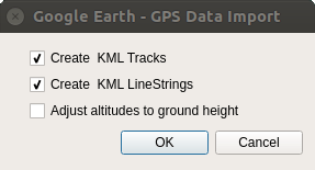 GPS Data Import