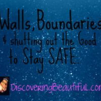 Building Walls vs. Creating Boundaries. What's the Difference?