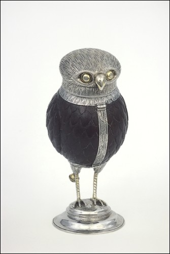 Antwerp silver owl