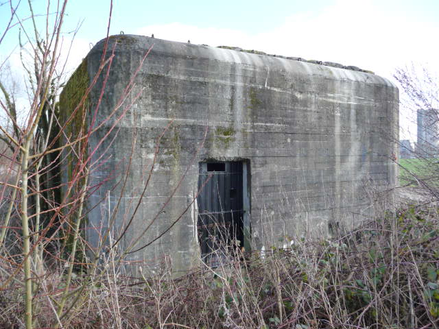 It's one of 235 machine gun pillboxes built during the Second World War in a line from Antwerp to Waver.