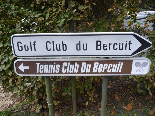 Golf and tennis in Bercuit, Belgium