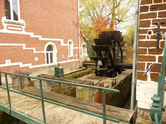 Testelt water mill