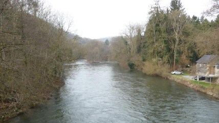 the River Ambleve in Martinrive