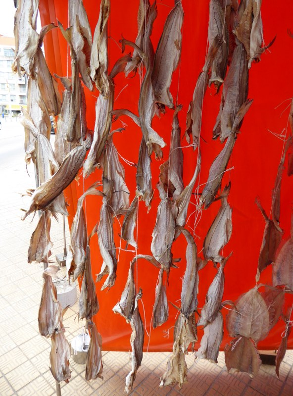 Dried fish, Oostende