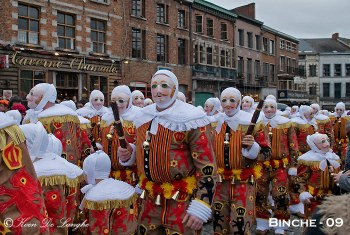 Binche Carnival, Belgium