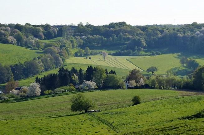 The Voerstreek, Limburg, Belgium