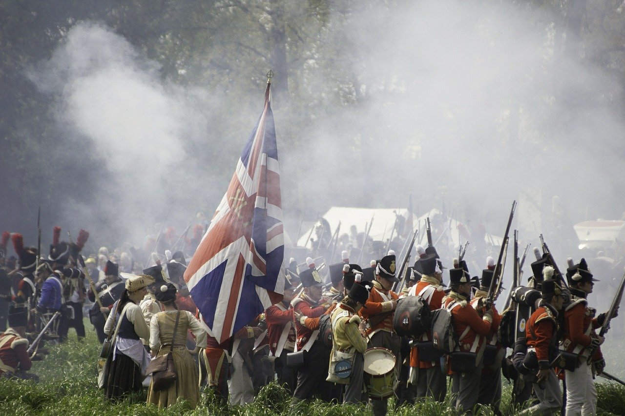 Battle of Waterloo, Belgium