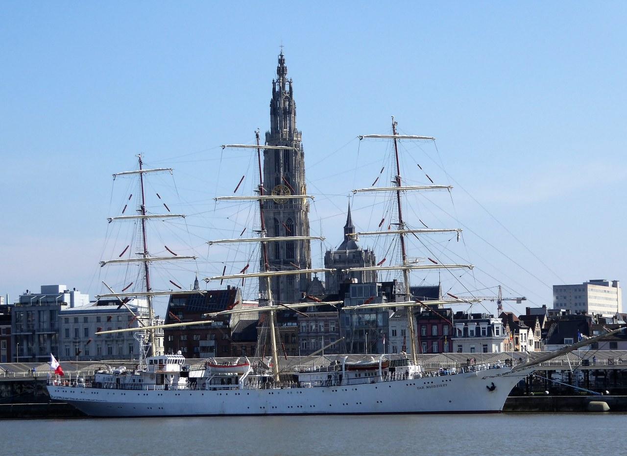 River Schelde ship