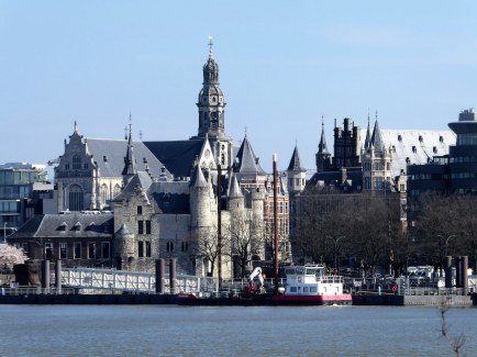 Het Steen Castle Antwerp on the River Schelde