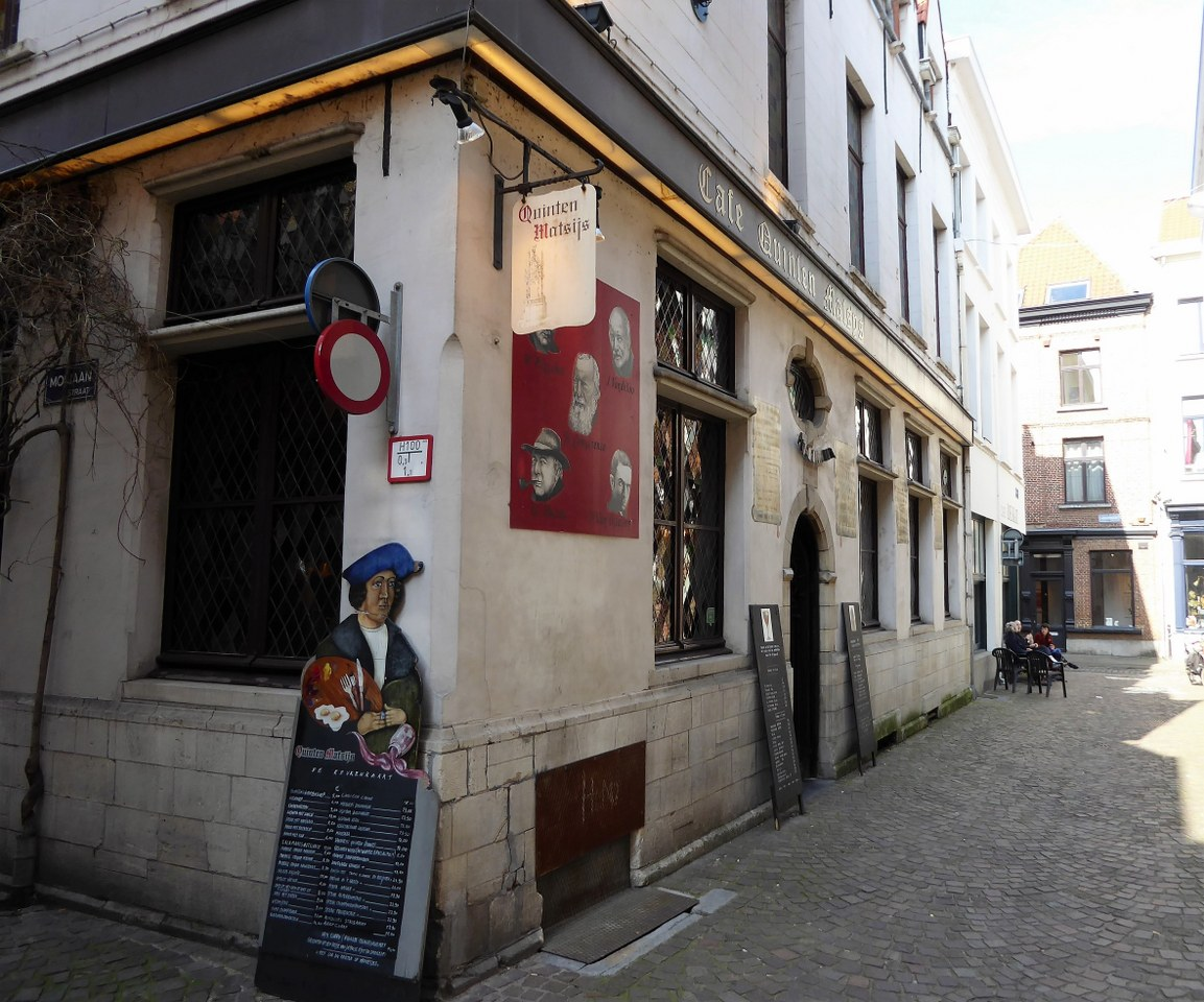 the oldest pub in Antwerp