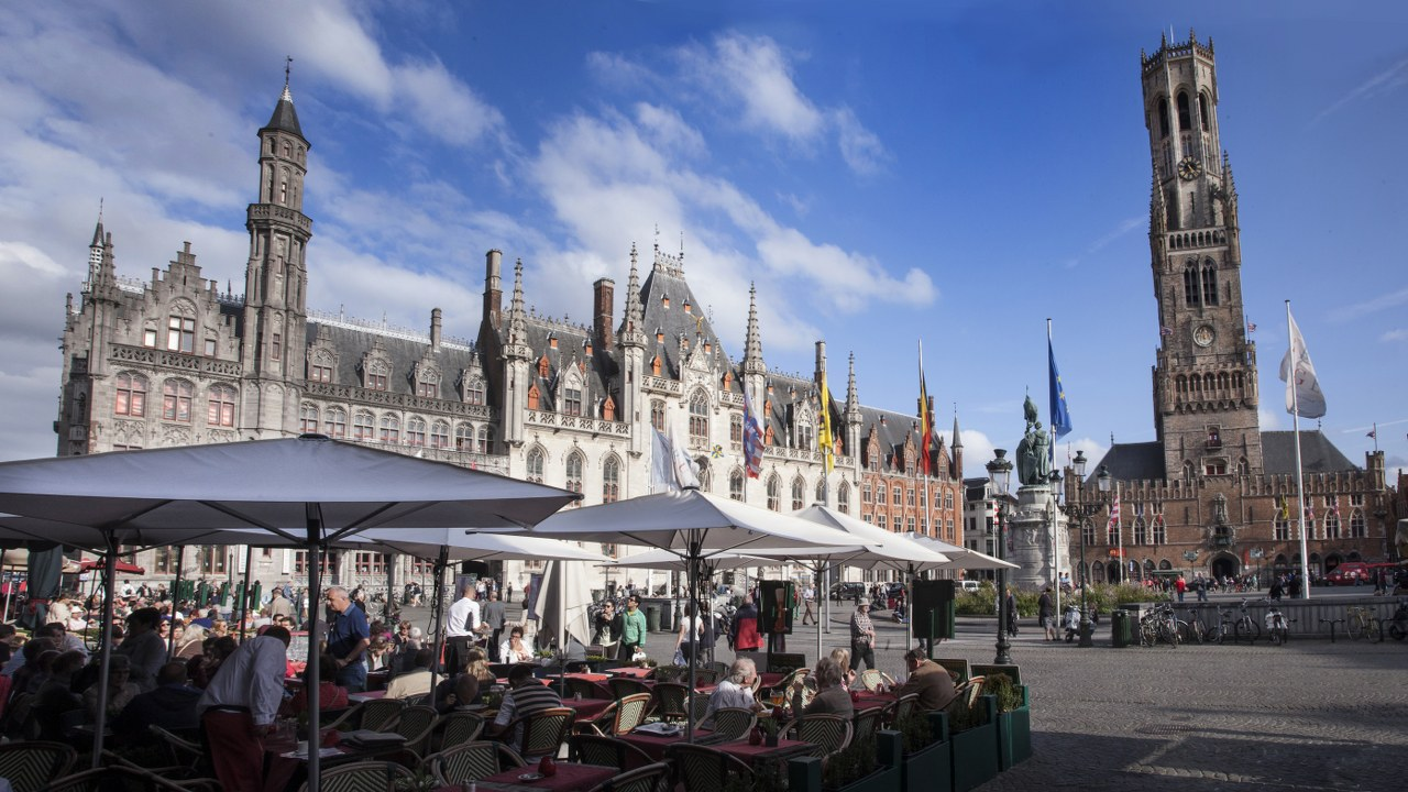 One day in Bruges: the Markt Square and Belfry | © Jan D'Hondt, Visit Bruges