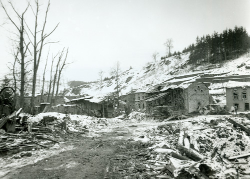 The bombing of Houffalize