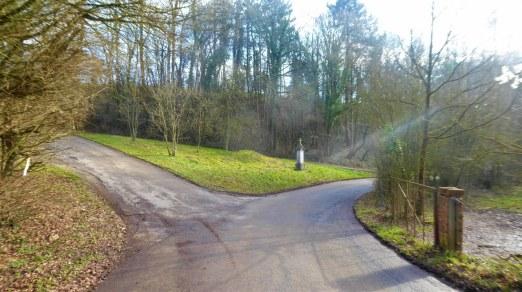 Sclaigneaux walk alternative starting point