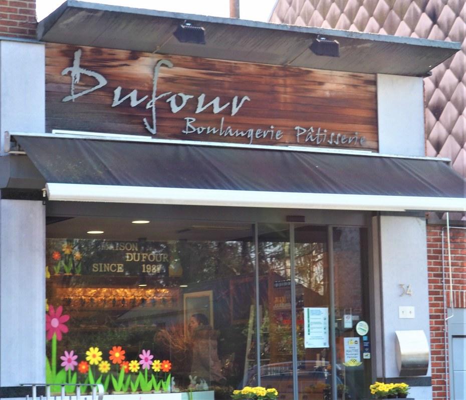 Dufour baker's in Hamme-Mille