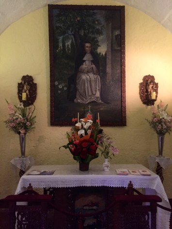 Photo of Ana, a nun who previously lived in Santa Catalina and is one miracle away from sainthood