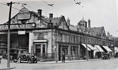 Gee Sykes and Cook garage Discovering Heritage