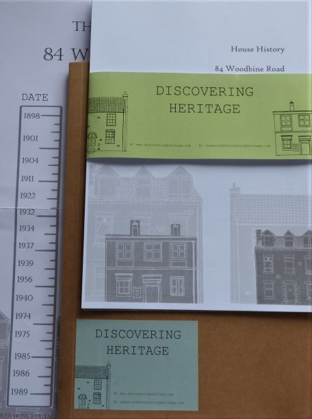 Heaton House Histories pack contents