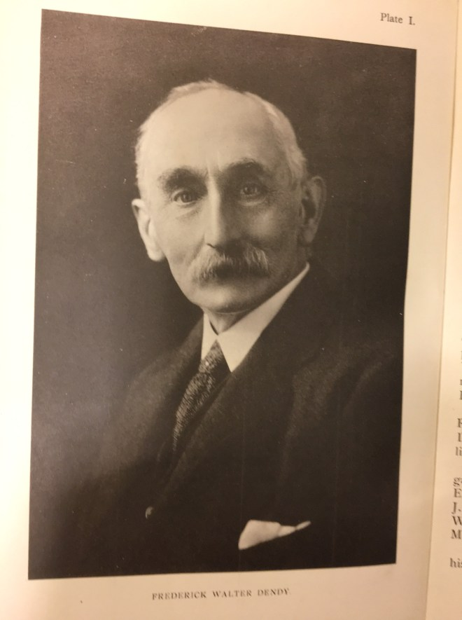 Discovering Heritage research photo Frederick Dendy Author of An Account of Jesmond