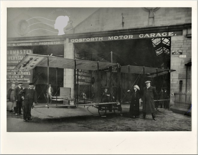 Fred Gee of Gosforth Empire Gas Generator Works and Gosforth Garage