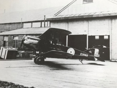 Bristol F2B fighter Gosforth Newcastle libraries