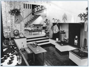 inside photo of the Lyktan shop on Grey Street